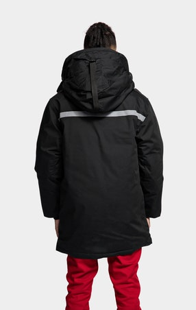 Parkas Expedition Unisex Black - omgående levering