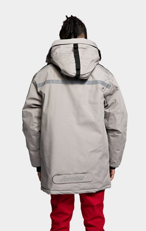Parkas Expedition Unisex Grey - omgående levering