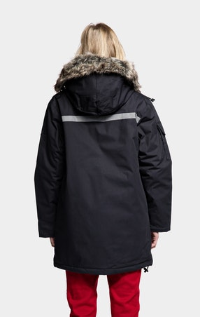 Parkas Expedition Jente Black - omgående levering