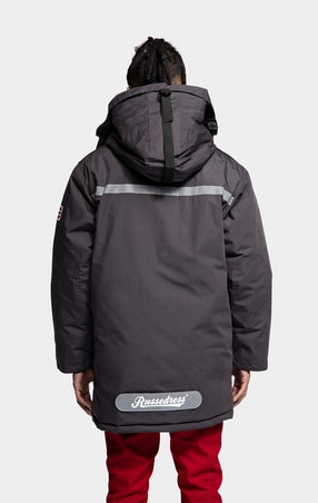 Parkas Expedition Unisex Dark Grey - omgående levering
