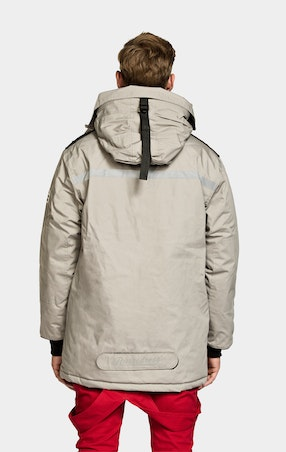 Parkas Expedition Unisex Beige - omgående levering