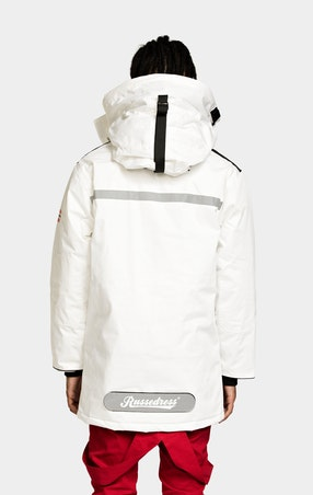 Parkas Expedition Unisex White - omgående levering 1258