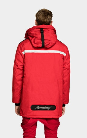 Parkas Expedition Unisex Red - omgående levering