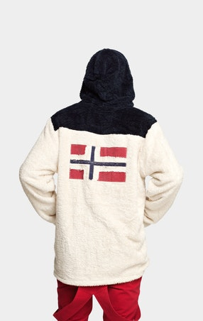 Fleece Teddy Mix Unisex Off White