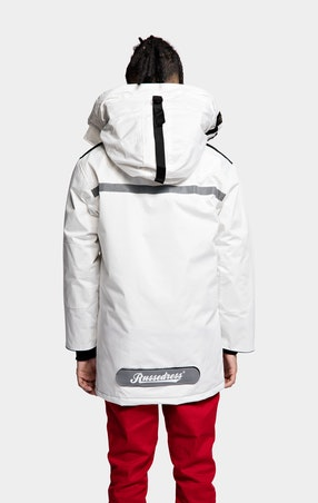Parkas Expedition Unisex White