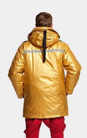 Parkas Expedition Unisex Gold