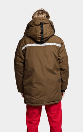 Parkas Expedition Unisex Brown