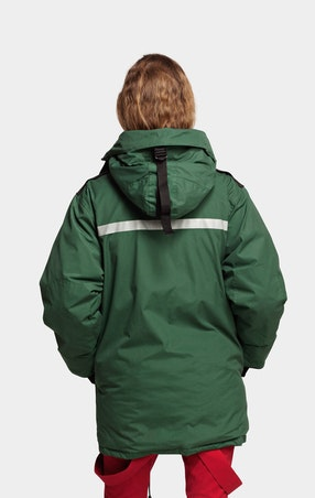 Parkas Expedition Unisex Green