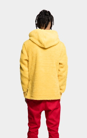 Fleece Chilli Yellow Polar